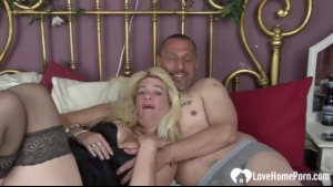 Horny doggy style wife sucked by her husband
